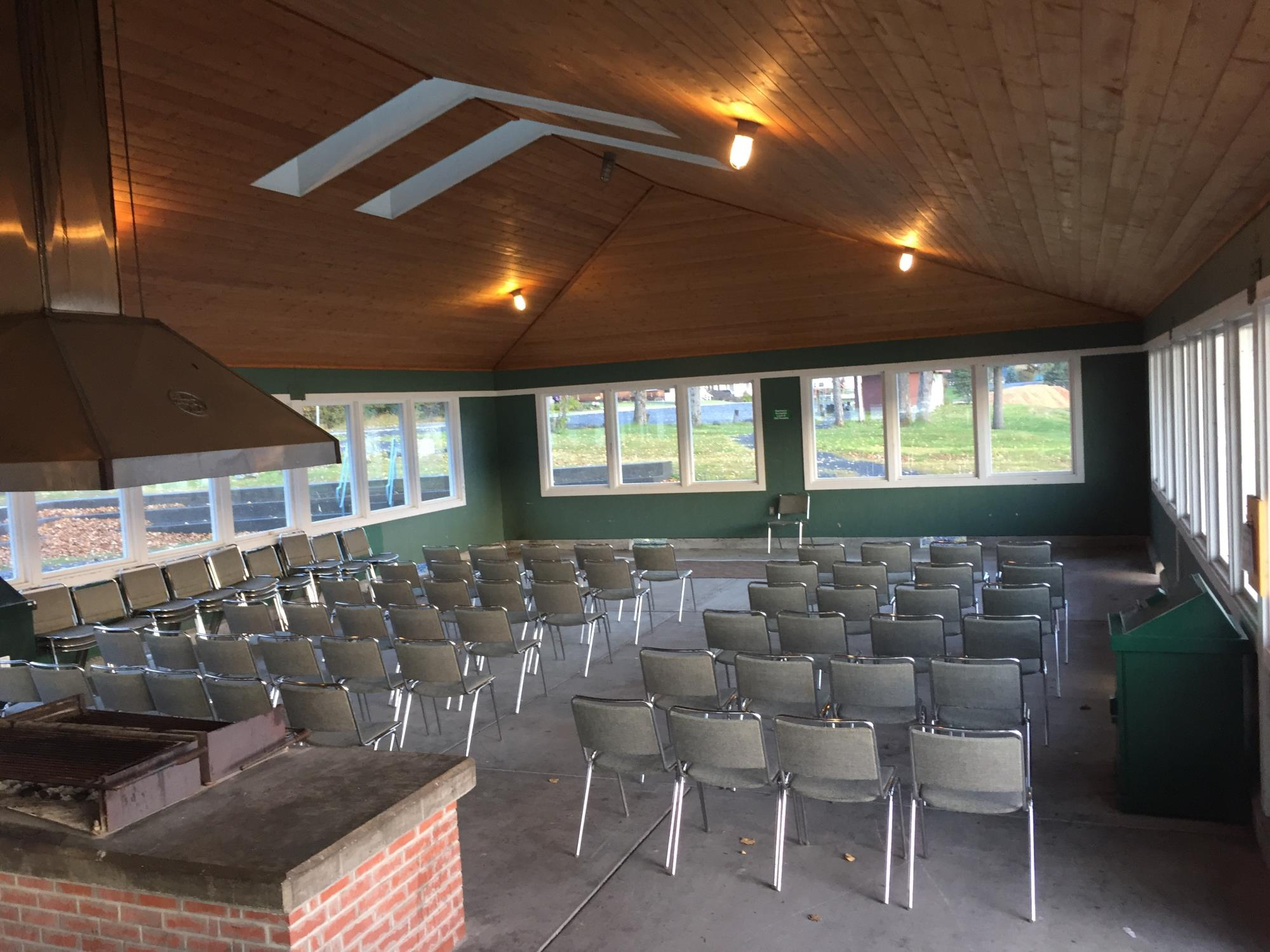 Branson Pavilion (Inside) - 2